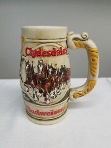 Vintage-Clydesdales-Anheuser-Busch-Budweiser-Beer-Stein-Mug-Ceramarte