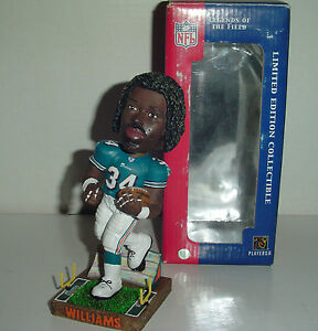 Image is loading RICKY-WILLIAMS-34-MIAMI-DOLPHINS-BOBBLEHEAD-RARE-AS- 76aa1d29b