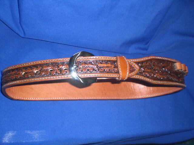 Personalizado de Rancho mano cinturón Con Cartucho bucles Bala Cuero Mare Pierna