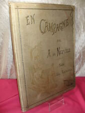 MILITARIA/ EN CAMPAGNE  Jules Richard  Tableaux & Dessins de Neuville in-folio