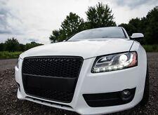 RS5 Grill Look für Audi A5 8T DTM Wabengrill Stoßstange Gitter Blende S5 #65