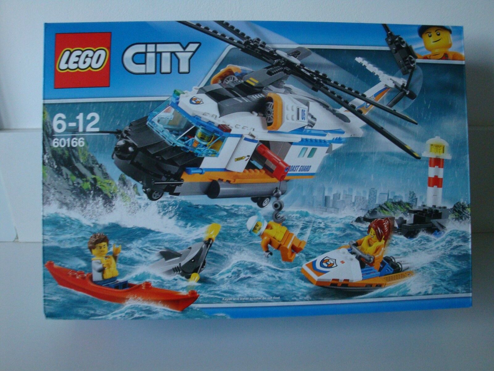 BOITE LEGO CITY 60166 L'HELICOPTERE DE SECOURS