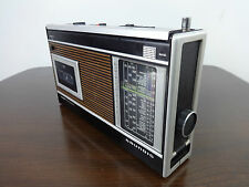 Vintage Radio Cassette Player Grundig C2001 Automatic 5 band radio FULLY WORKING