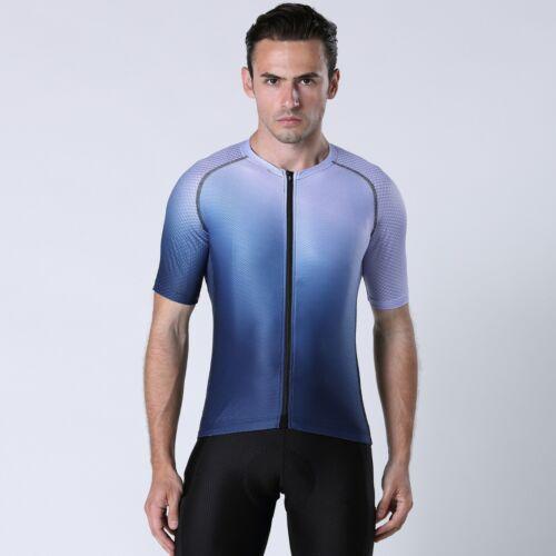 2020 Men Summer Short Sleeve Cycling Jersey Pro Team Road Mountain Bike Clothing