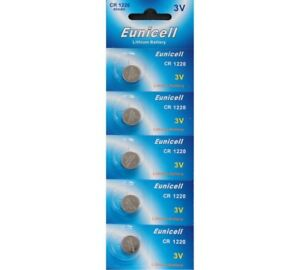 5-X-EUNICELL-CR1220-3-VOLT-LITHIUM-BUTTON-COIN-CELL-BATTERIES