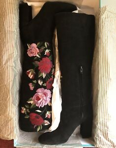 a633b07b5da Image is loading MSRP-498-Kate-Spade-NIB-Floral-Rose-Embroidered-