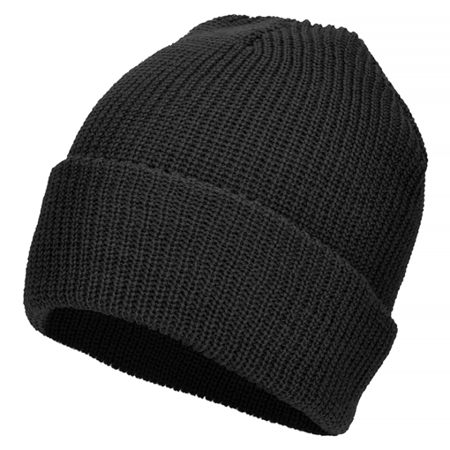 b264999f5b0 Mil-Tec Wool US Winter Military Watch Cap One Size Black for sale ...
