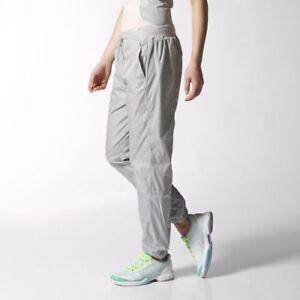 enjoy big discount superior performance order Details about adidas Womens Stella McCartney Glacial Grey Tracksuit Bottoms  Pants Ladies Sport