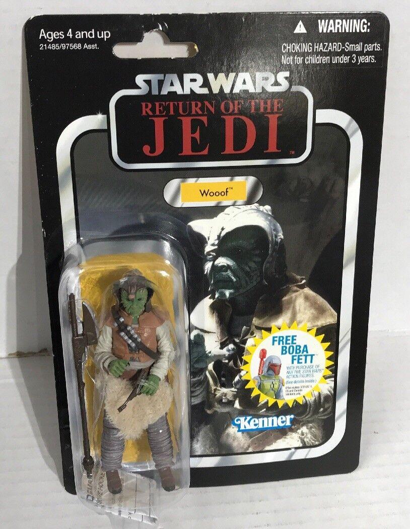 Star Wars 3.75 Vintage Figure Wooof Skiff Guard
