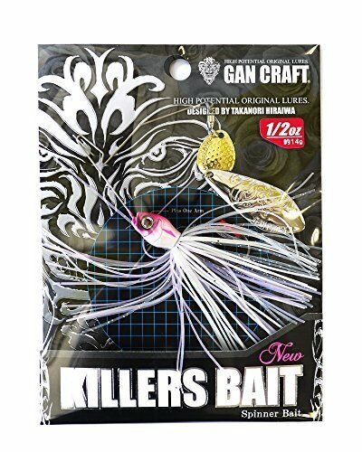 Gan Craft 584543 Lure Killers Bait Type 1 12 #06 S Natural Pearl White