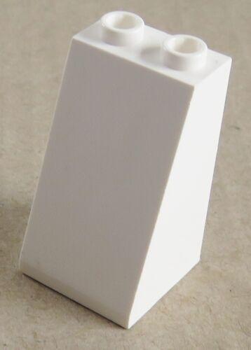 2 Stück LEGO Dachstein / Slope 75  2 x 2 x 3 weiß # 3684