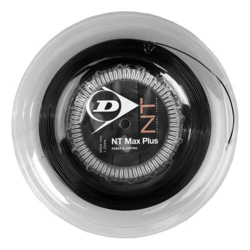 Dunlop Nt Max Plus 200M Anthrazit Tennis Saitenrolle 200m Anthrazit NEU