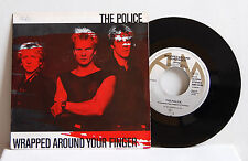 "Vinyl 7"" Single The Police 1983  Wrapped around Your Finger A+M REC. EX+"