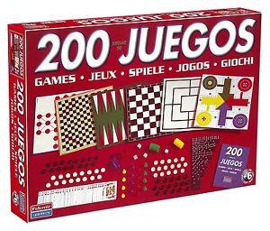 JUEGO DE MESA FALOMIR- 200 JUEGOS REUNIDOS