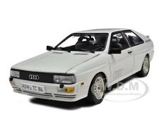 1981 AUDI QUATTRO COUPE  WHITE 1/18 DIECAST CAR MODEL BY SUNSTAR 4155