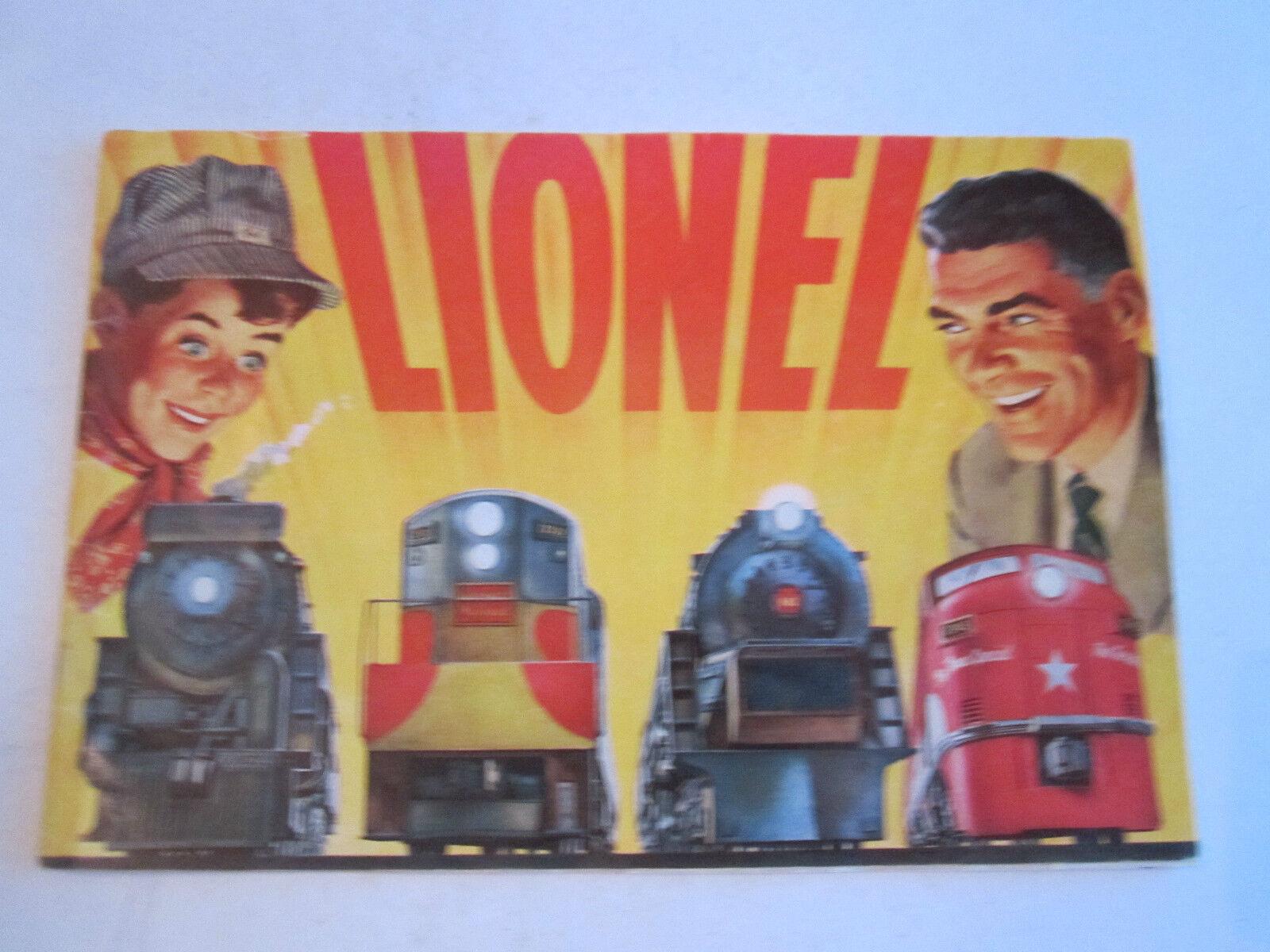 1954 LIONEL TRAIN CATALOG - COLLECTIBLE - BOX C