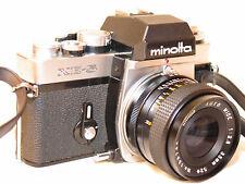 MINOLTA XE-5 35mm SLR CAMERA with 35MM F2.8 LENS
