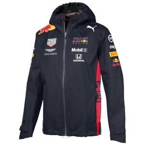 Puma Red Bull Racing Team Jacke F1 Herren Kapuzenjacke Regenjacke Formel 1
