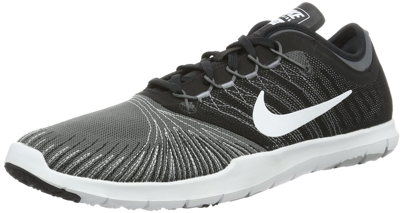 NIKE Women's Flex Adapt Tr Tr Tr Cross Trainer Shoes Dark Grey/White/Black/Stealth sz9 daa548