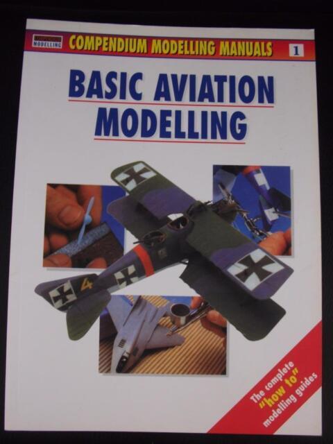 Osprey Compendium Modelling Manual 1 'Basic Aviation Modelling' paperback book