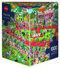 Heye - Triangular , 1000 Piece Jigsaw Puzzle - Dog Show, Tanck HY29788