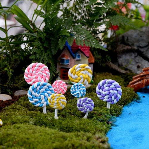 Miniature Dollhouse Lollipop Fairy Garden Micro Landscape DIY Party Xmas Dec~GQ