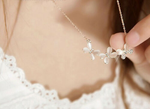 Details about  /Boho Women Multi-layer Long Chain Pendant Crystal Rhinestone Choker Necklace New