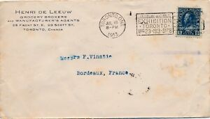 Lettre-Canada-Toronto-Canadian-National-Exhibition-Cover