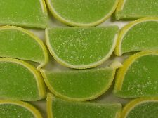 Key Lime Fruit Slices Nostalgic Jelly Slice Candy 2 Pounds FREE SHIPPING