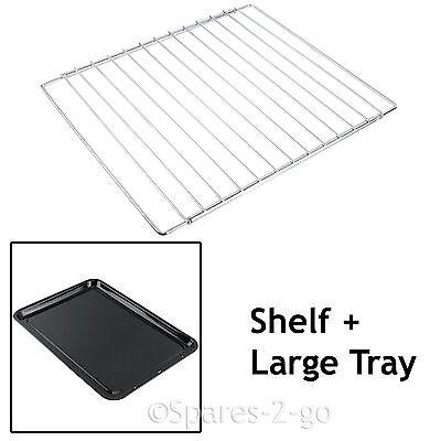 SIEMENS Adjustable Chrome Oven Cooker Grill Shelf /& Large Enamel Baking Tray