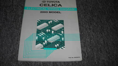 2003 Toyota Celica Electrical Wiring Diagram Service Shop