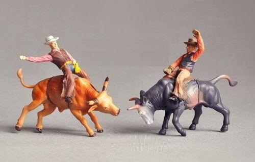 P2505 New-Ray Moldel 1:26 Painted Figures Matador COWBOY Bullfighting G Scale