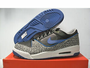 huge discount c55a8 4c07a Image is loading NIKE-AIR-ASSAULT-SNEAKERS-MEN-SHOES-BLACKWHITE-BLUE-