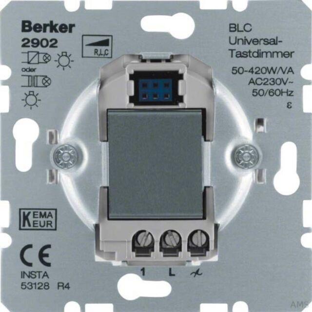 Berker Blc Uni Variateur Tactile 50-420W 2902