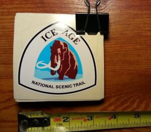 Ice Age National Scenic Trail RARE National Park Service Trail Marker Sticker