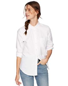 New-J-Crew-Mercantile-Womens-Boy-Fit-Button-Down-Oxford-Dress-Shirt-Sizes-S-XL