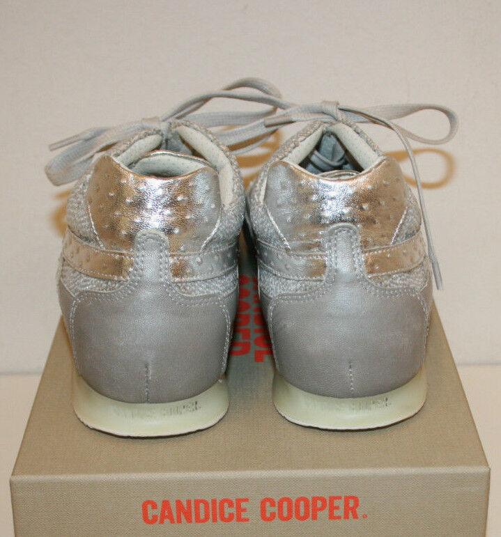 Candice Candice Candice Cooper Sneaker hellgrau silber grau Gr.38,5 d1f143