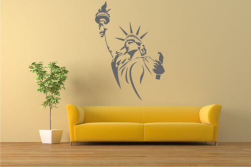 P19 STATUE of LIBERTY Reusable Stencil A3 A4 A5 AMERICA TRAVELLING Craft