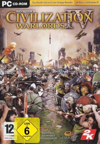 1 von 1 - Civilization IV 4 Addon: Warlords für Pc Neu/Ovp