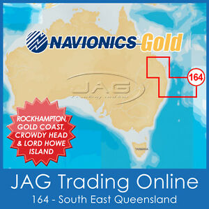 NAVIONICS-GOLD-SMALL-CARD-8G164S-EASTERN-AUSTRALIA-GPS-MAP-CHART-QLD