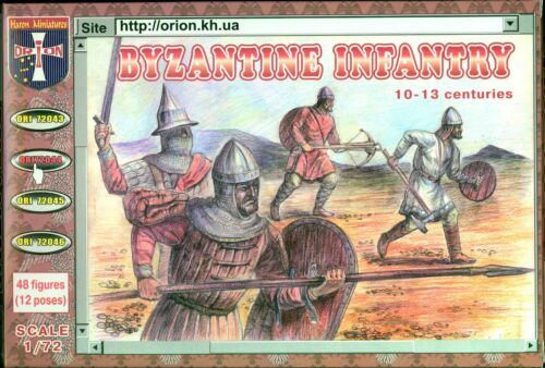 Orion Models 1//72 BYZANTINE INFANTY 10th-13th Century Figure Set