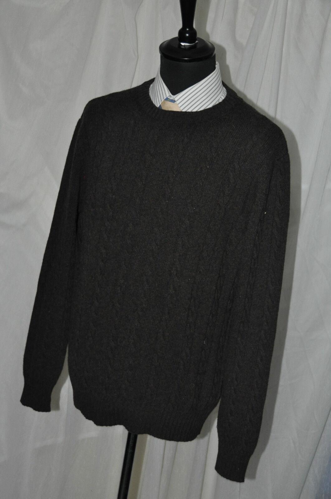 United colors of benetton Pullover Kaschmir/Angoramixed schokobraun Gr. L