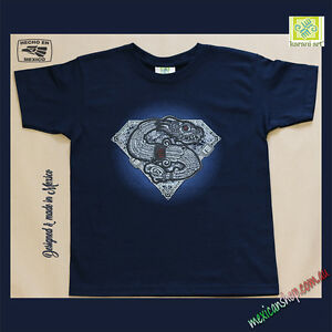 a34bfddaa5e1 Image is loading Mexican-T-shirt-Kids-Unisex-Superman-inspired-Serpent-