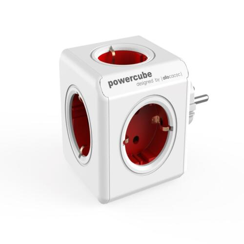 PowerCube Ursprünglicher Splitter Grau Rot Farben universell universal