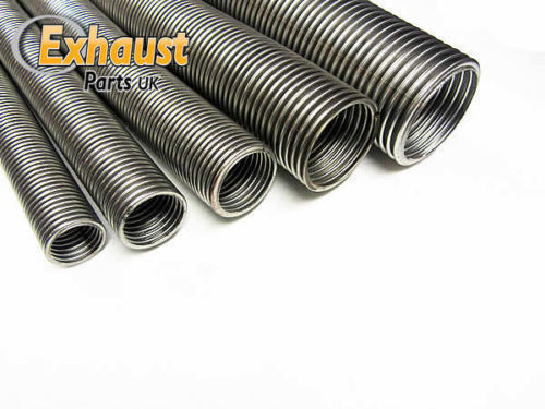 """38mm 1.5/"""" x 1M Heavy Duty Universal Flexible Stainless Flexi Tube Exhaust Pipe"""