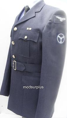 MILTARY Royal Air Force parade SAC TEC RAF No1 uniform tunic SD Jacket 36 chest