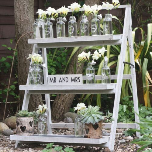 1 x Rustic Ladders Stand Wedding Display Decorations