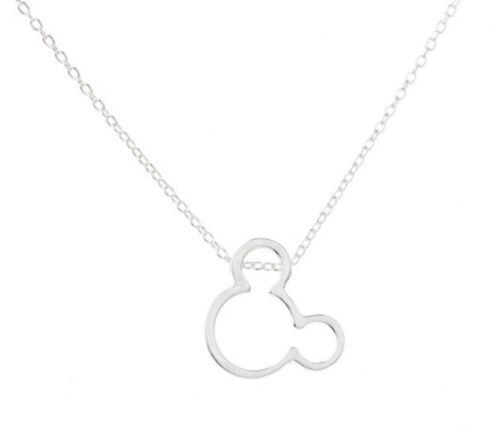 Valentines Disney Jewellery Mouse Necklace /& Pendant Set  /& Gift Bag