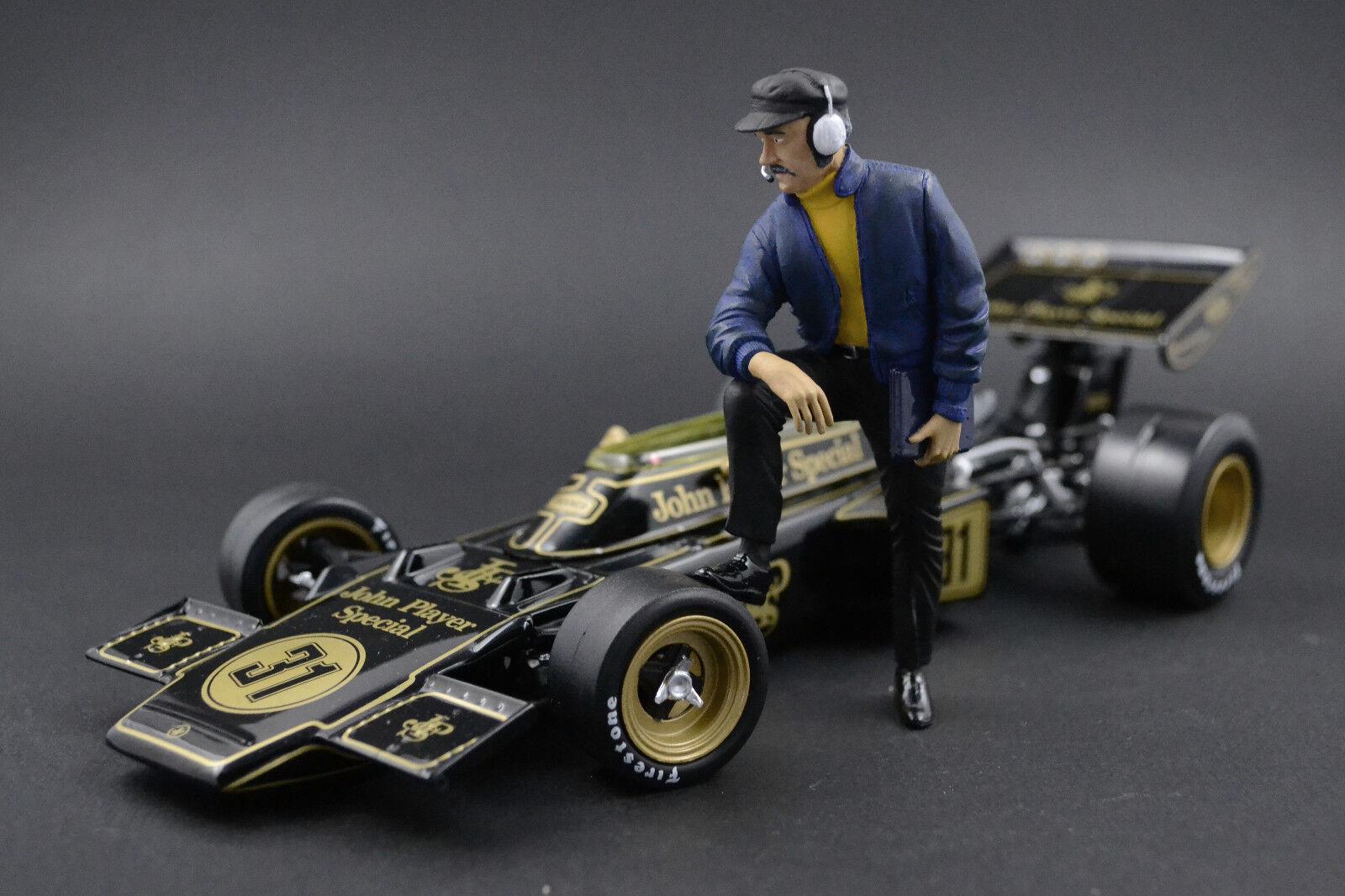 Colin Chapman Figur für 1 18 Lotus Cortina Autoart JPS