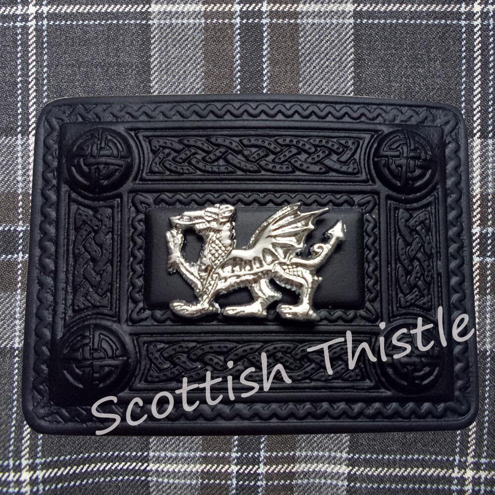 rose en émail NEUF SCOTTISH THISTLE Heritage Kilt Pin Finition Chrome//Kilt PINS vert